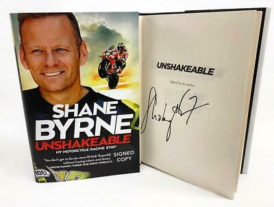 Signed Book - Unshakeable By Shane Byrne First Edition 1st Print • 17.99£