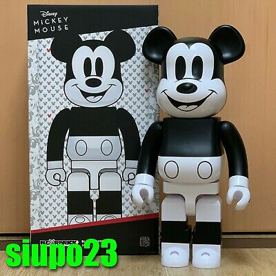 $799.99 • Buy Medicom 1000% Bearbrick ~ Mickey Mouse 2020 Black & White Be@rbrick B&W