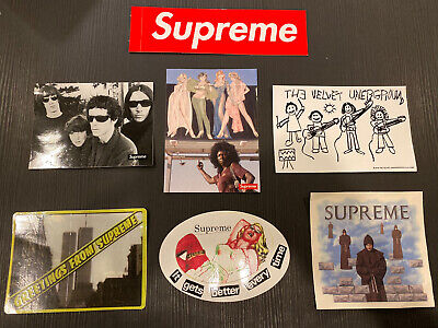 $ CDN25.05 • Buy Supreme Sticker Lot - Authentic