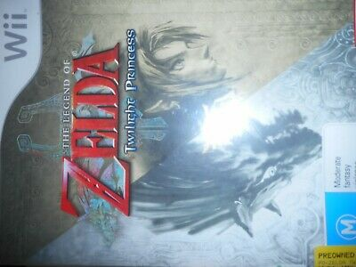 AU37.76 • Buy The Legend Of Zelda: The Twilight Princess Wii Game With Manual
