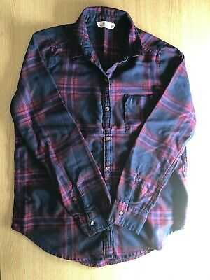 Hollister California Checked Flannel Shirt S • 7.50£