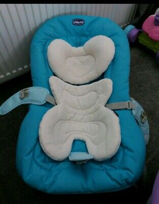 £25 • Buy Chicco MIA Baby Chair Seat Bouncer / Rocker (0 Months+) Blue