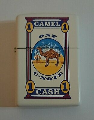 £240 • Buy Camel C-Note Zippo Lighter, (Z444), Circa 1998, Very Rare, Possible PROTOTYPE