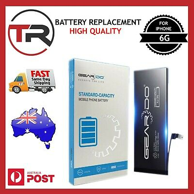 AU21.98 • Buy New Replacement Battery For IPhone 6 With Free Tools SC Capacity 1810mAh Geardo