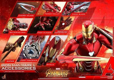$ CDN438.84 • Buy Hot Toys 1/6 The Avengers Infinity War Ironman Mark 50 Extension Parts Set