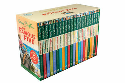 The Famous Five Collection 22 Books Box Set By Enid Blyton - Brand New + Sealed • 54.95£