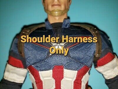 $ CDN46.70 • Buy Hot Toys MMS281 Captain America Age Of Ultron 1/6 Scale Shield Shoulder Harness