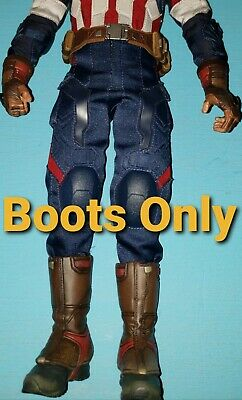 $ CDN46.70 • Buy Hot Toys MMS281 Captain America Age Of Ultron 1/6 Scale Shoes Boots Only