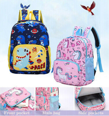 AU18.59 • Buy Unicorn Backpack Kids Girls School Shoulder Bag Rucksack Travel Container Cute Z