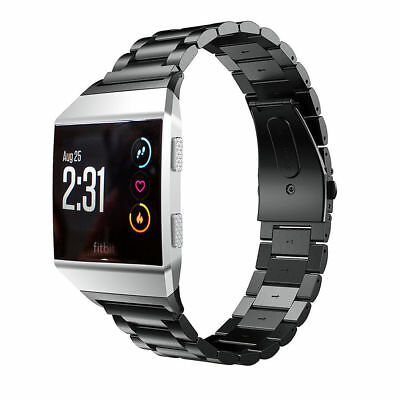 AU10.99 • Buy Replacement Wrist Band For Fitbit Ionic Watch Stainless Steel Clasp Bracelet