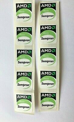 10 AMD Sempron Mobile PC Laptop Case Badge Stickers  • 2£