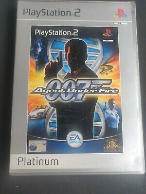 James Bond 007: Agent Under Fire Platinum - Sony Playstation 2 PS2 • 1.90£