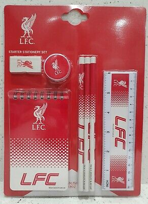 Liverpool FC Starter Stationery Set - Official Merchandise • 7.99£