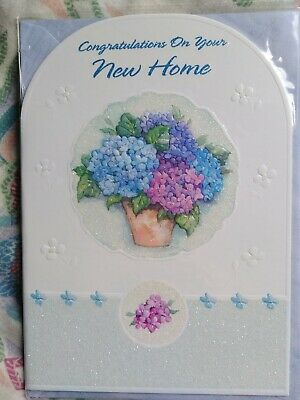 Greeting Card New Home Congratulations  • 1.49£