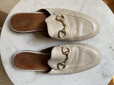 AU201.78 • Buy Gucci Slingback Loafers Shoes  Size 35