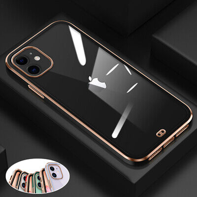 AU9.99 • Buy For IPhone 12/Pro/Max/Mini 11 Clear Shockproof Case Soft Silicone Luxury Cover