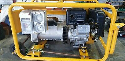 AU2275 • Buy Generator 8KVA , C/W Hire Package, Electric Start,