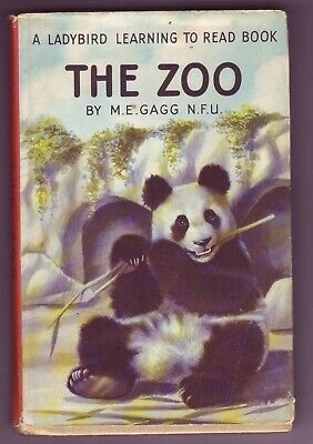 Ladybird Books  563 Series  The Zoo With  D/J 1st Edition M E Gagg • 8.99£