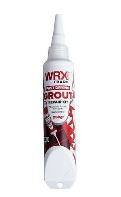£7.99 • Buy WRX Grout Repair Kit 250g – Suitable For All Tile Types