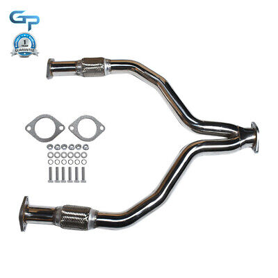 $ CDN148.42 • Buy Racing X/Y-PIPE/DOWNPIPE Exhaust Stainless For 08-16 370Z Z34/G37 V36 VQ37 VHR