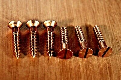 £1.80 • Buy Silicon Bronze Slotted Countersunk Woodscrews Various Pack Sizes