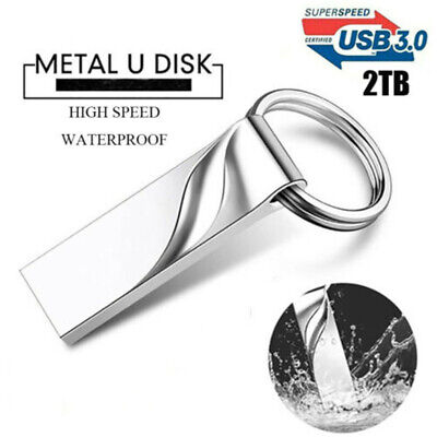 $ CDN10.12 • Buy 2TB USB 3.0 Flash Drive Memory Metal Data Storage U Disk PC Laptop High-speed J