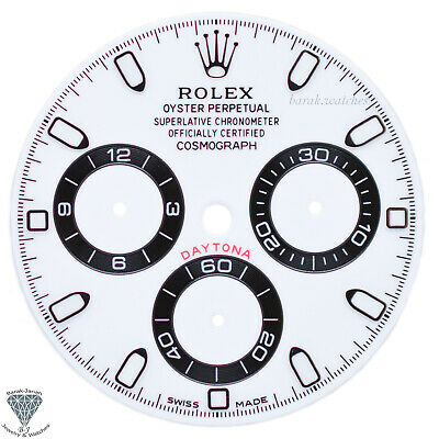 $ CDN858.94 • Buy Panda White Rolex Dial For Rolex Daytona 116508, 116520, 116505 For Caliber 4130