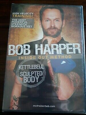 Bob Harper Inside Out Method - Kettlebell Sculpted Body DVD, 2010) New Sealed • 9.18£