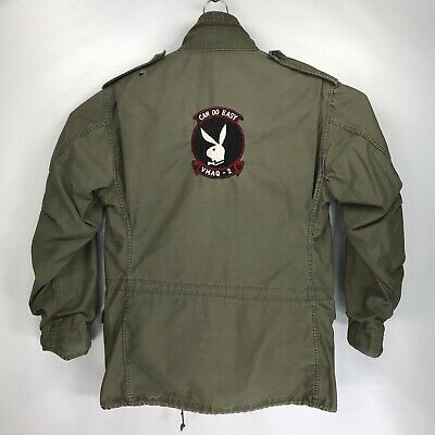 $99.99 • Buy Medium Long Vintage Alpha Industries Green M65 Military Field Jacket Can Do Easy