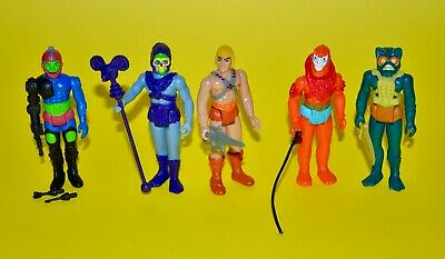 $89.99 • Buy 2015 Masters Of The Universe MOTU Super7 ReAction He-Man Action Figure Lot Of 5