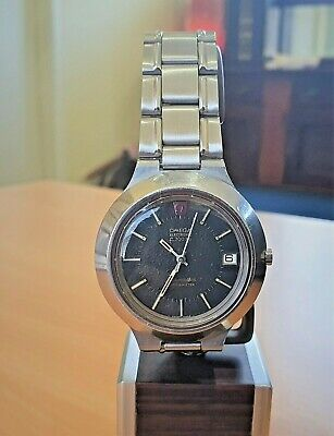 AU650 • Buy Vintage SS Omega F300  Cone  Electronic Tuning Fork Watch Cal 1250 (ESA9162)