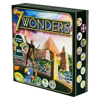 AU36.99 • Buy 7 Wonders Card Core Base Set Board Game Melbourne Stock