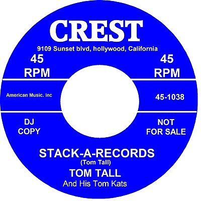 STACK A RECORDS Tom Tall • 10£