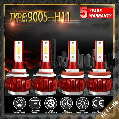 AU29.88 • Buy 9005 HB3 H11 H8 H9 LED Headlight Bulbs High Low Beam For Toyota Kluger 2011-2013