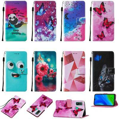 £4.98 • Buy For Various Mobile Phones Magnetic Leather Card Slot Stand Soft Case Cover