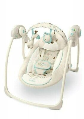 £20 • Buy Bright Starts Comfort & Harmony Portable Baby Swing With Music And Timer