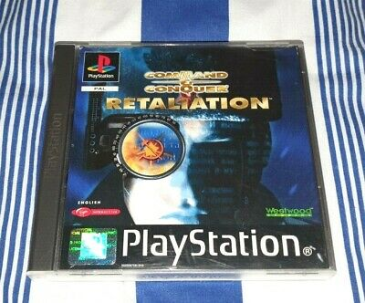 AU59.99 • Buy Command & Conquer Red Alert Retaliation PSX PS1 Playstation Game PAL NO MANUAL