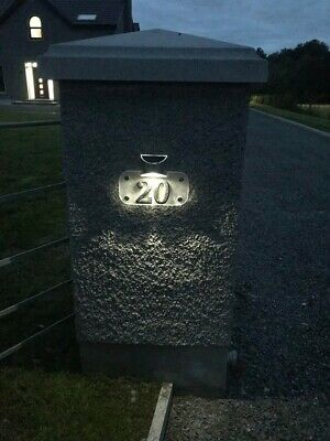 £40 • Buy Solar House Number Plaques