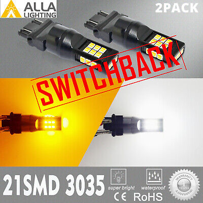 $19.98 • Buy LED 2-Color Front Turn Signal Bulbs Pair Set For 01-11 Ford Ranger Pickup Truck