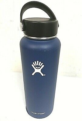 $26.99 • Buy Hydro Flask 40 Oz Wide Mouth With Flex Cap Insulated Water Bottle Cobalt - 0Q_69