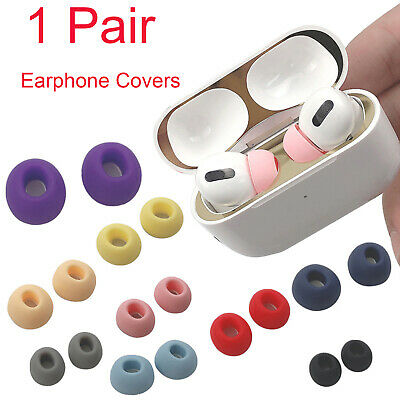 $ CDN4.35 • Buy 1Pair Silicone Case Earphone Tips Cover For Airpods Pro 3 Anti Slip Accessories