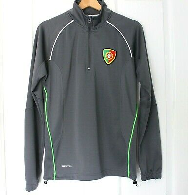 Forca Portugal LUKE 11 Football Training Sweat Top Track Top Jacket Size XS  • 12.99£
