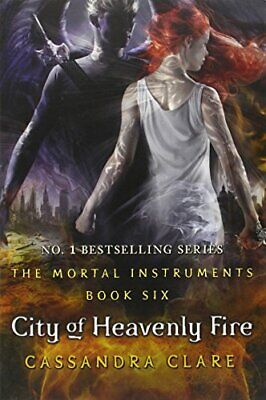 Mortal Instruments 6 City Heavenly Fire Adult Book Paperback By Cassandra Clare • 5.99£