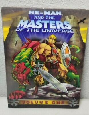$14.95 • Buy He-Man And The Masters Of The Universe - Volume 1 (DVD, 2007, 3-Disc Set)