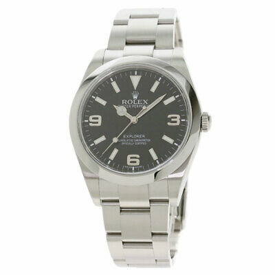 $ CDN9739.15 • Buy ROLEX Explorer 1 Watches 214270 Stainless Steel/Stainless Steel Mens