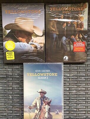 AU99.99 • Buy Yellowstone Season 1,2 And 3 DVD *Will Post To NZ*