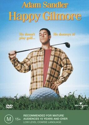 AU19 • Buy Happy Gilmore DVD Brand New And Sealed Region 4 Adam Sandler Comedy Fun Family