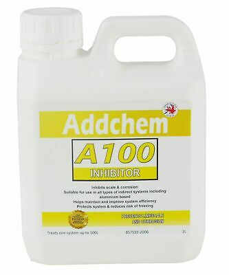 A100 Concentrated Inhibitor 1L - Boiler Central Heating System Protector Cleaner • 7.99£