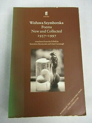 Wislawa Szymborska Poems New And Collected 1957-1997 Paperback Faber&Faber 1999 • 7.95£