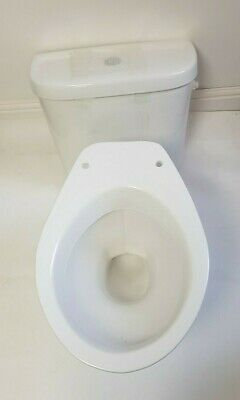 Low Level Ceramic Pan + Push Button Cistern 465 X 195 X 415mm Excluding Seat • 125£